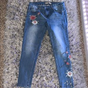 Women's Jeans with flowers